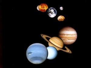 Desktop Wallpaper: Planetary Alignment