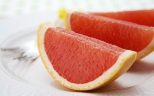 Desktop Wallpaper: Pieces of Grapefruit