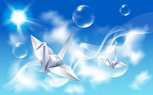 Desktop Wallpaper: Origami