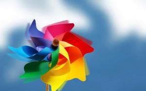 Desktop Wallpaper: Multicolored Toy