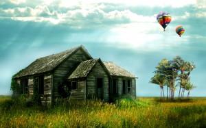 Desktop Wallpaper: Farm House