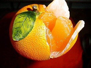 Desktop Wallpaper: Ripe Tangerine
