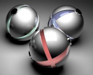 Techno Balls - скачать обои на рабочий стол