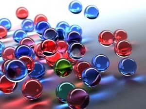 Desktop Wallpaper: Bright Balls