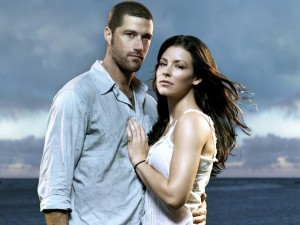 Desktop Wallpaper: Jack and Kate from t...
