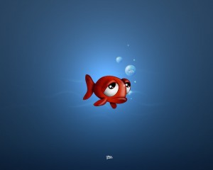 Desktop Wallpaper: Sad Fish