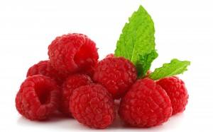 Desktop Wallpaper: Fresh Raspberries