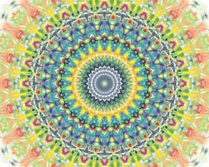 Desktop Wallpaper: Multicolored Abstrac...