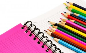 Desktop Wallpaper: Multicolored Pencils