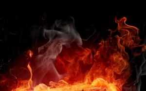 Desktop Wallpaper: Flame