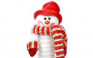 Desktop Wallpaper: Toy Snowman
