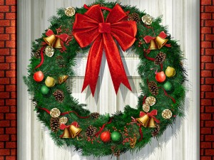 Desktop Wallpaper: Christmas Wreath
