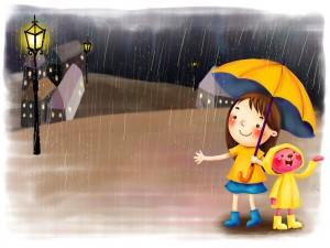 Desktop Wallpaper: Rainy Day