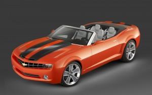 Desktop Wallpaper: Camaro Cabrio