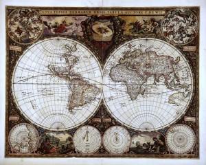 Desktop Wallpaper: World Map