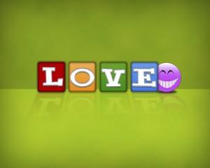 Desktop Wallpaper: 4 Simple Letters