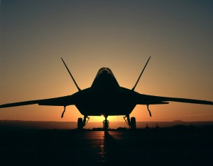 Desktop Wallpaper: Battle Plane F-22