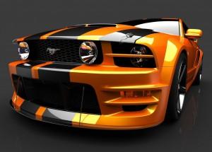 Desktop Wallpaper: Black-and-Orange For...