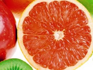 Desktop Wallpaper: Slice of Orange