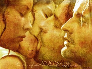 Desktop Wallpaper: Kate and Sawyer from...