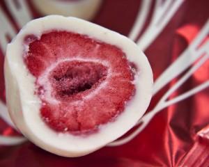 Strawberry and Chocolate Desert - скачать обои на рабочий стол