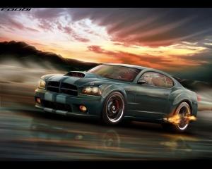 Desktop Wallpaper: Dodge Charger