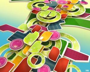 Desktop Wallpaper: Bright Colors