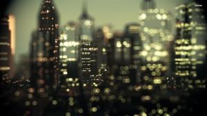 Desktop Wallpaper: The City Never Sleep...