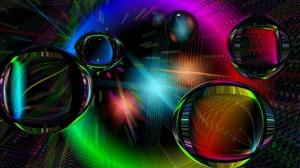 Desktop Wallpaper: Balls with Glares