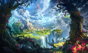 Desktop Wallpaper: The World of Fairy T...