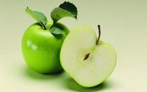 Desktop Wallpaper: Green Apples