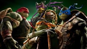 Desktop Wallpaper: Four Ninja Turtles