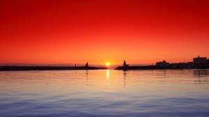 Desktop Wallpaper: Sunset