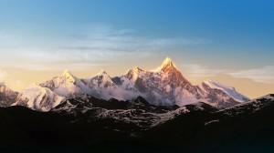 Desktop Wallpaper: Mountain Chine