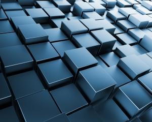 Desktop Wallpaper: Cubes of Variable He...