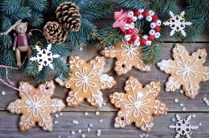Desktop Wallpaper: New Year's Cookies i...