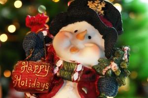 Desktop Wallpaper: Funny Snowman