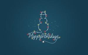 Desktop Wallpaper: Happy Christmas Holi...