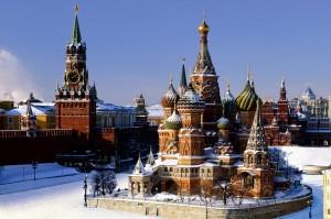 Desktop Wallpaper: The Kremlin in Winte...