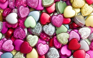 Desktop Wallpaper: Decorative Hearts