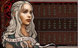 Desktop Wallpaper: Daenerys Targaryen f...