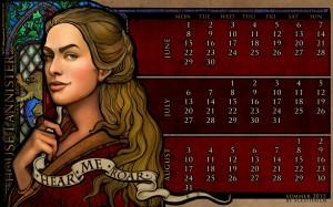 Desktop Wallpaper: Cersei Lannister fro...