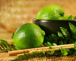 Desktop Wallpaper: A Couple of Limes