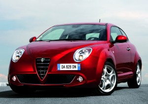 Desktop Wallpaper: Red Alfa Romeo Mito