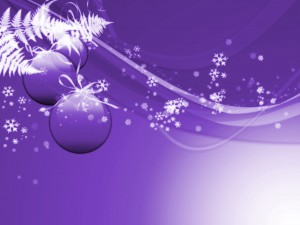 Desktop Wallpaper: Purple Animated Baub...