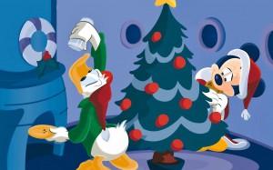 Desktop Wallpaper: Mickey Mouse Christm...