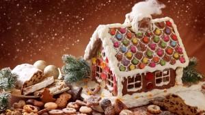 Desktop Wallpaper: Gingerbread House