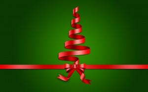 Desktop Wallpaper: Red Bow Gift Ribbon