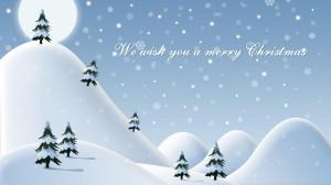 Desktop Wallpaper: We Wish You A Merry ...