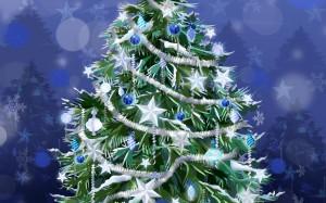 White Star Christmas Ornament - скачать обои на рабочий стол